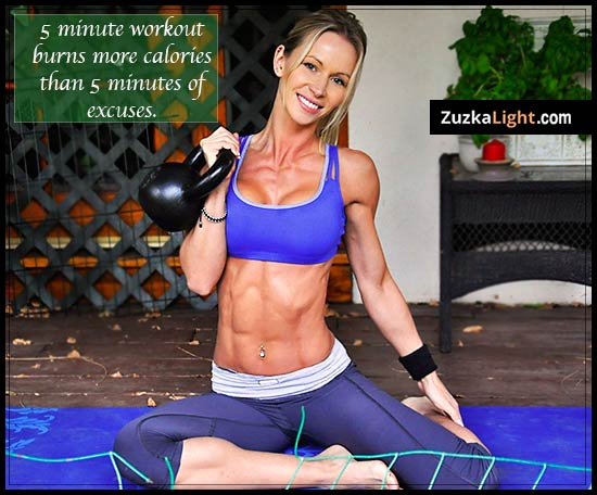 Zuska light kettlebells