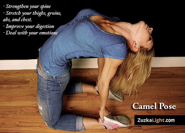 Camel Pose Can Make You Cry | Zuzka Light